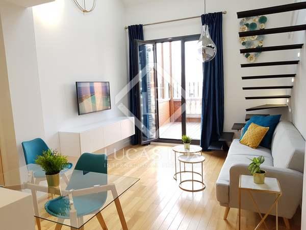 Penthouse de 80m² a louer à Recoletos avec 12m² terrasse