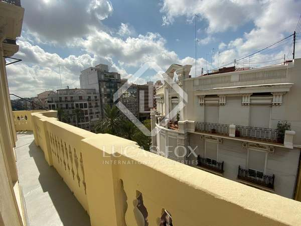 132m² Apartment with 6m² terrace for rent in Ruzafa