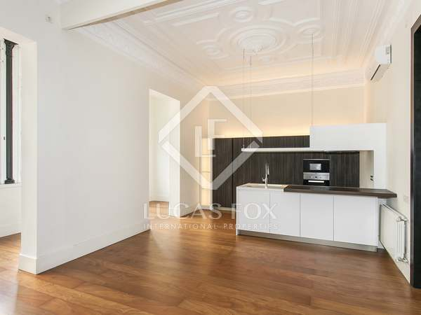 Charming 3-bedroom apartment for rent in Eixample, Barcelona