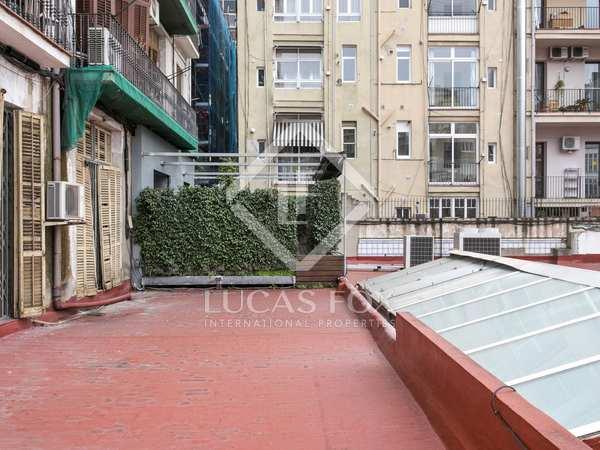 Piso con 40 m² de terraza en venta en Eixample Derecho