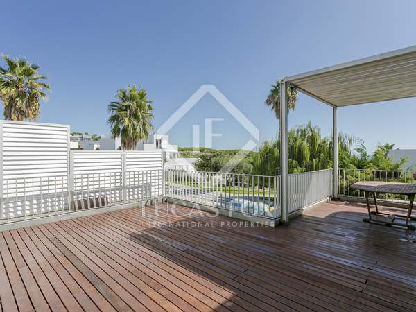 134m² Apartment with 43m² terrace for sale in Els Cards