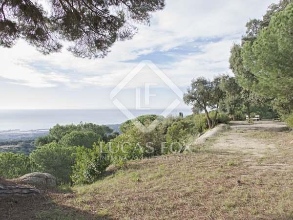 Terrains à bâtir en vente sur la côte du Maresme près de Barcelone