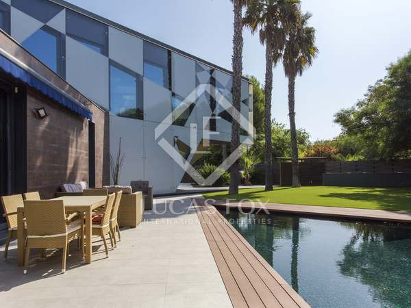 Luxury designer house for sale in Sitges close to Barcelona