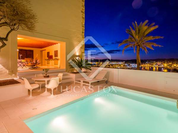 Spectacular property for sale in Dalt Vila, central Ibiza