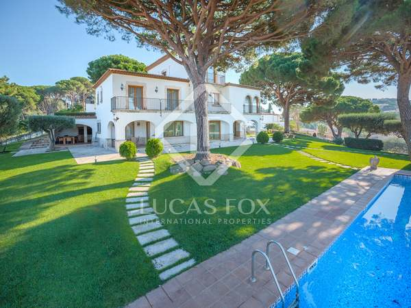 Luxury mansion for sale in Sant Feliu de Guíxols