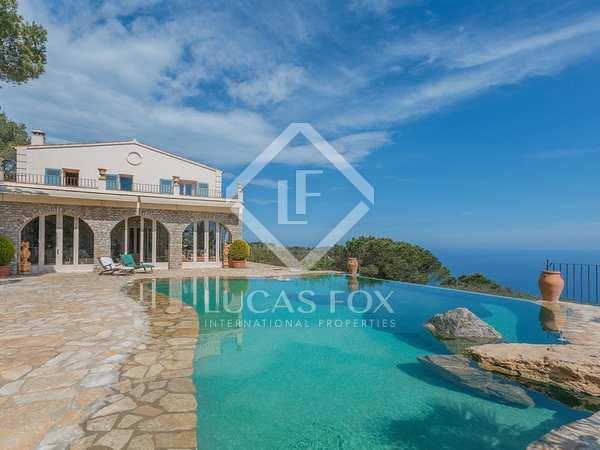 Luxury Costa Brava sea view property to buy in Begur