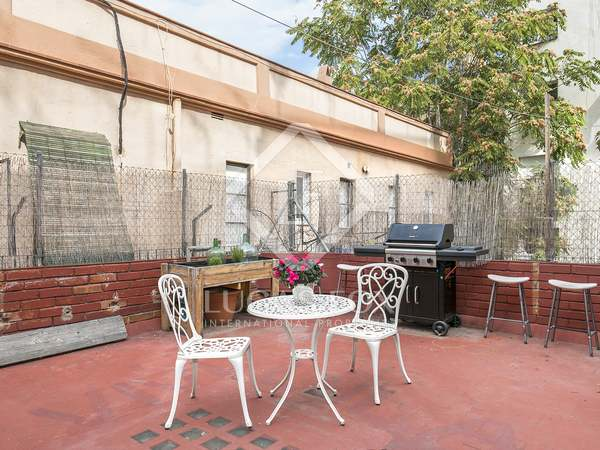 83 m² apartment with 40 m² terrace for sale in Gracia