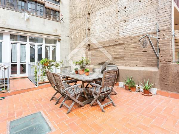89 m² apartment with 55 m² terrace for sale in Poble Sec