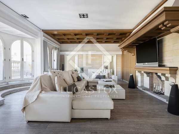 Квартира 400m², 40m² террасa аренда в Правый Эшампле
