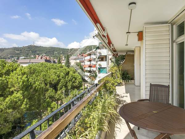 221 m² apartment with 20 m² terrace for rent in Pedralbes