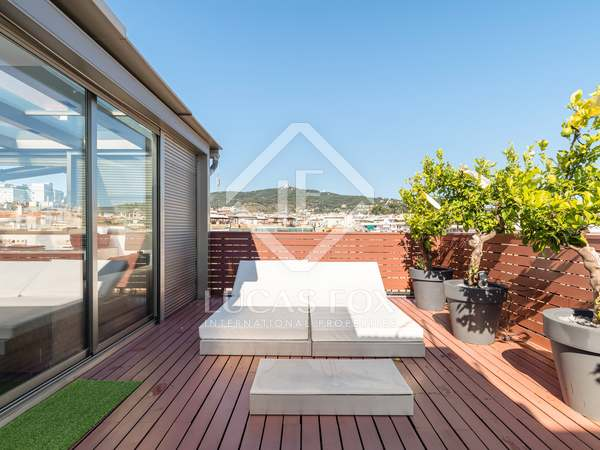 Penthouse de 177m² a vendre à Sant Gervasi - Galvany avec 77m² terrasse