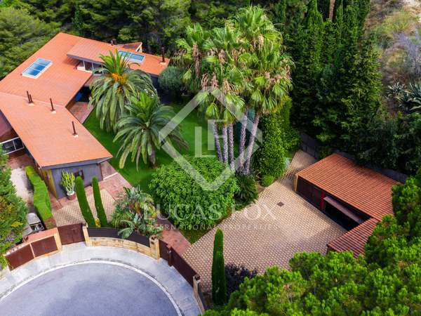 Stunning luxury house for sale on Barcelona's Costa Maresme