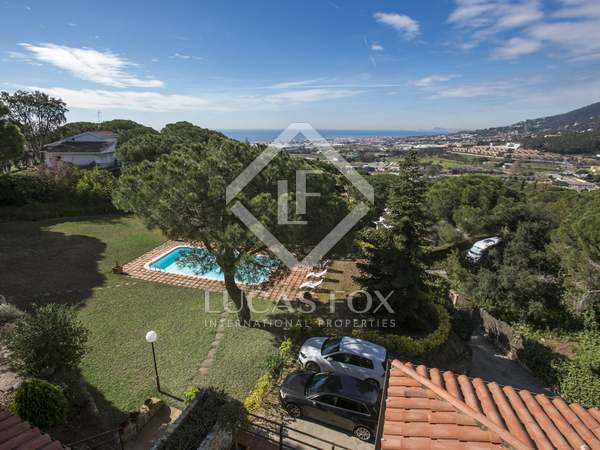 Luxury property for sale in Cabrils, Barcelona Maresme Coast