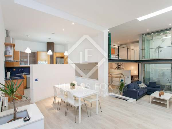 114m² Loft with 10m² terrace for sale in Eixample Right