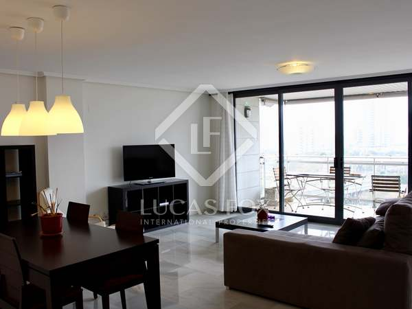 148 m² apartment with  terrace for rent in City of Sciences