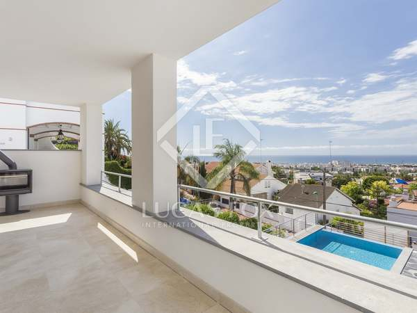 Excellent new Ibiza-style house for sale in Vallpineda