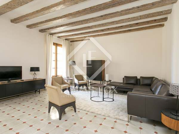 105 m² apartment for rent in the Gothic area, Barcelona