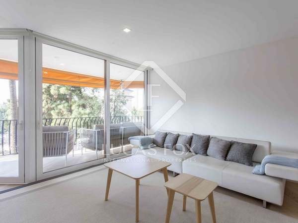 185 m² apartment with terrace for rent in El Pla del Real