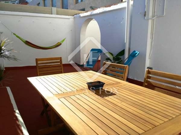 123 m² apartment with 50 m² terrace for rent in Ruzafa