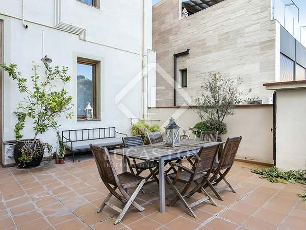Квартира 100m², 48m² террасa аренда в Грасия, Барселона