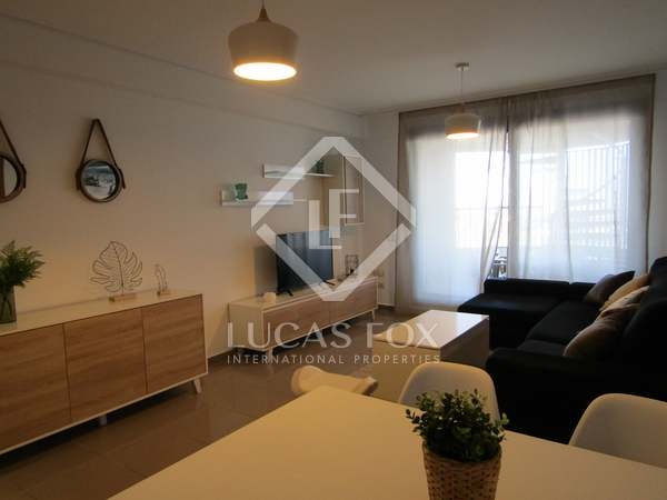 70m² penthouse with terrace for rent in Patacona