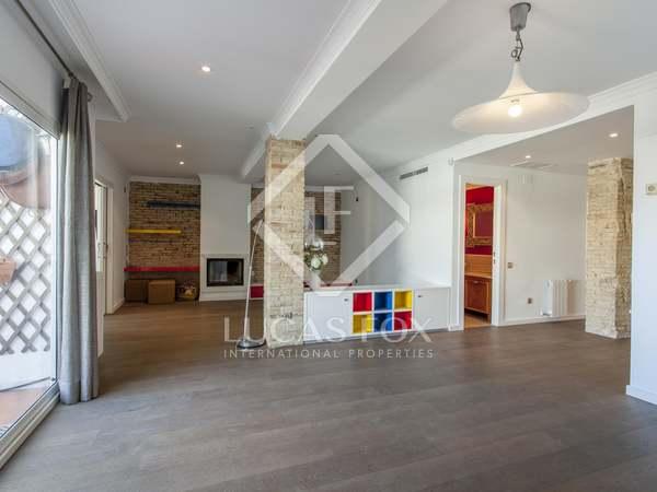 111m² Penthouse with 20m² terrace for rent in El Pla del Remei