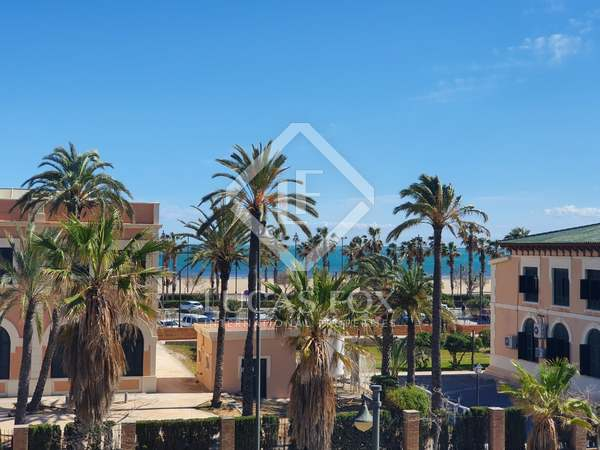 First line property for rent on the Valencia coast