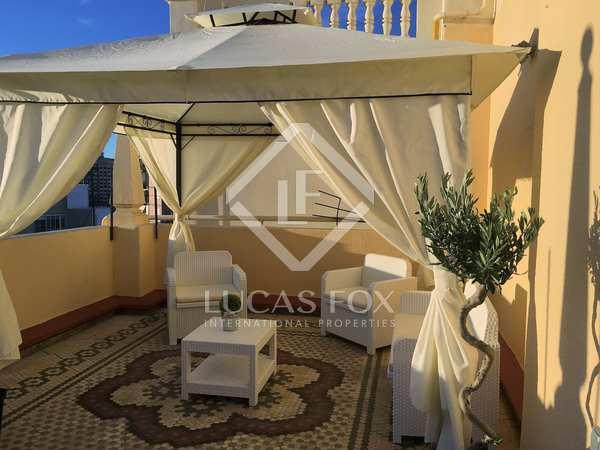 Ático de 160m² con terraza de 30m² en alquiler en Gran Vía