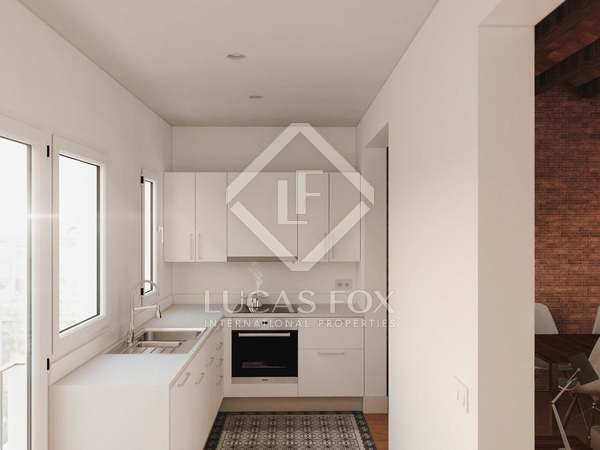 70 m² apartment with 35 m² terrace for sale in Gracia