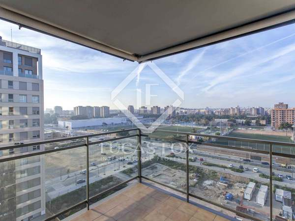 195 m² apartment with terrace for sale in City of Sciences
