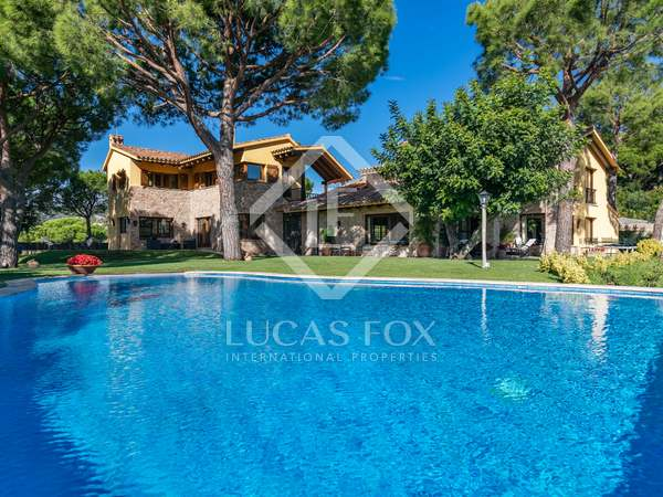 Luxury property for rent in Roccaferra, Barcelona Maresme