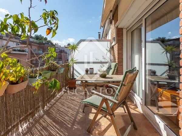 Ático de 162m² con 12 m² de terraza en venta en Turó Park