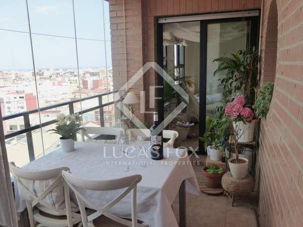 145m² Apartment with 10m² terrace for rent in Playa de la Malvarrosa