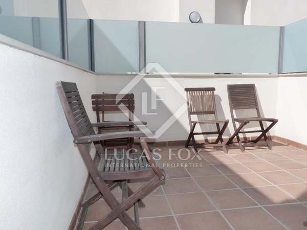 1-bedroom duplex penthouse for sale in Valencia centre