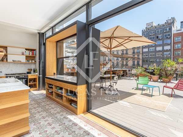 Квартира 200m², 100m² террасa аренда в Правый Эшампле