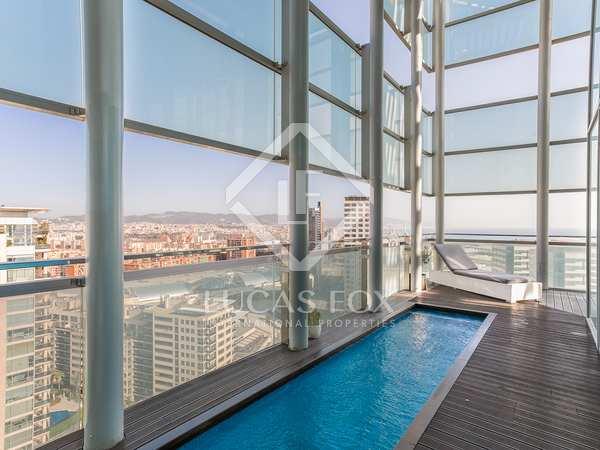 Attico di 153m² con 72m² terrazza in vendita a Diagonal-mar
