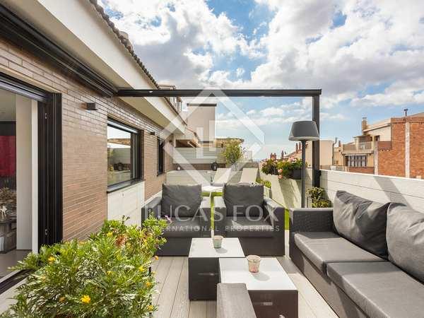 Ático con 100 m² de terraza en venta en La Bonanova