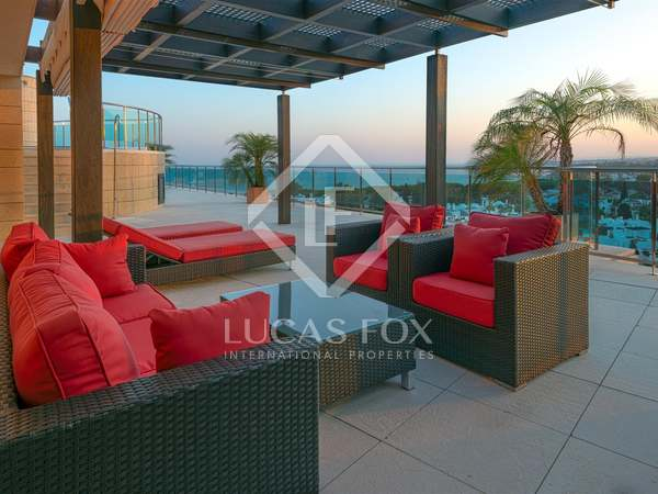 4-bedroom luxury penthouse for sale in Marbella centre