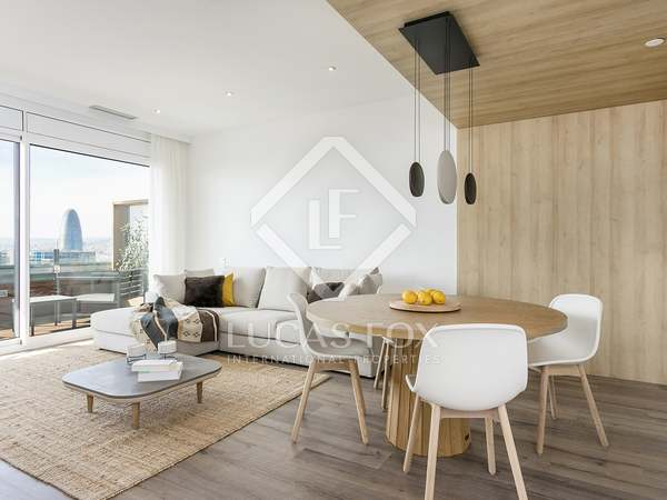 101m² Apartment with 27m² terrace for rent in Poblenou