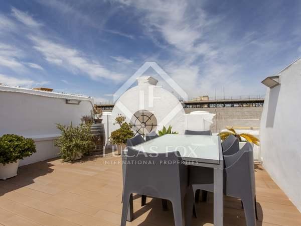 Ático de 119m² con terraza de 80m² en venta en Ruzafa