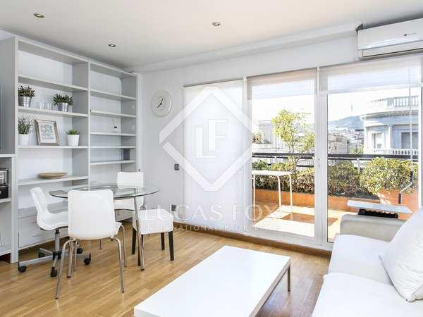 Appartamento di 45m² con 15m² terrazza in affitto a Sant Gervasi - Galvany