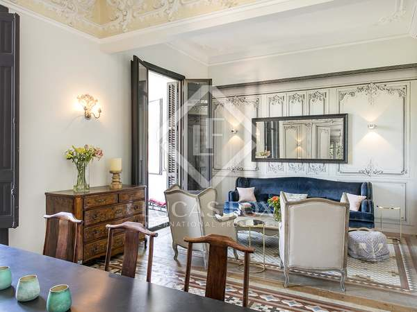 Elegant Modernista apartment of 185 m² for rent in Eixample