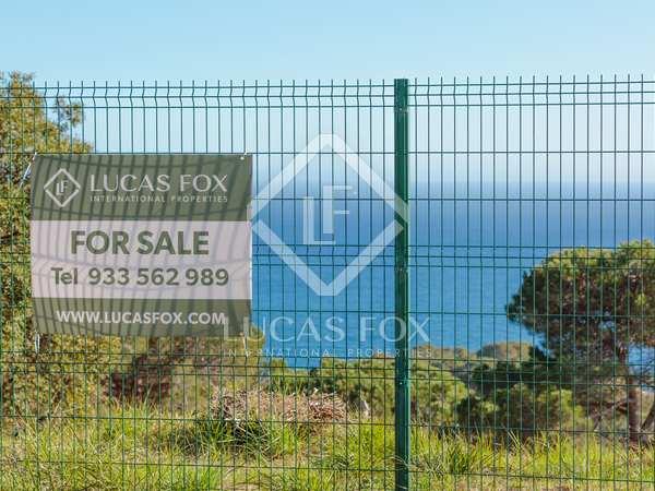 Parcel·la de 2,079m² en venda a Lloret de Mar / Tossa de Mar