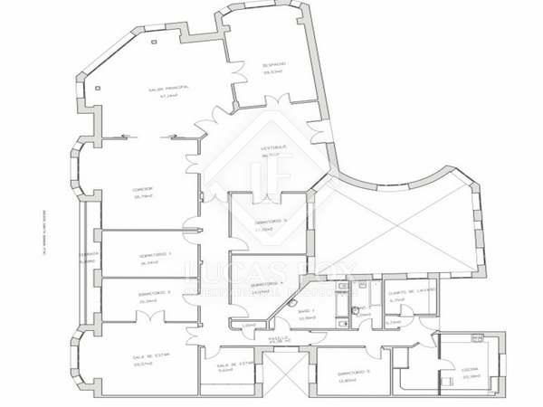 Piso de 440 m² en venta en Justicia, Madrid
