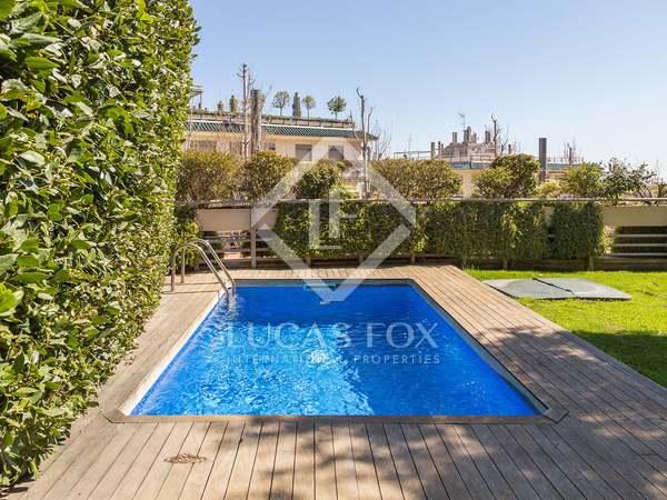 286m² Hus/Villa med 111m² Trädgård till uthyrning i Sant Gervasi - La Bonanova