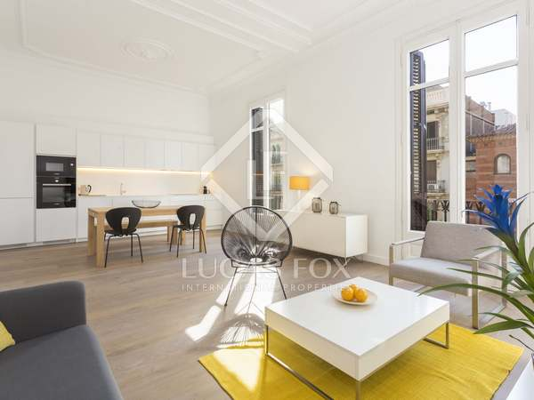 2-bedroom apartment for rent in Eixample Left, Barcelona