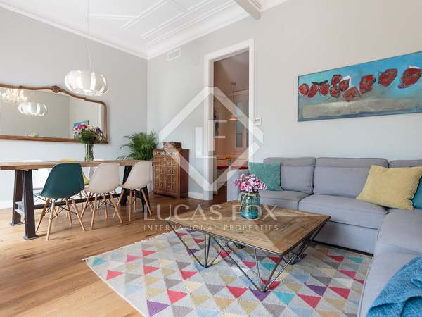 114m² Apartment with 12m² terrace for sale in Poblenou