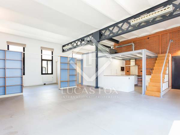 Loft property for rent in Poblenou, near the beach
