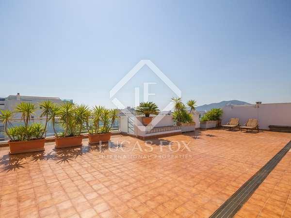 Beautiful 3-bedroom penthouse for sale in Santa Eulalia