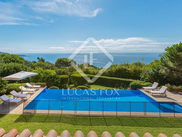 Luxury Costa Brava villa to buy with sea views